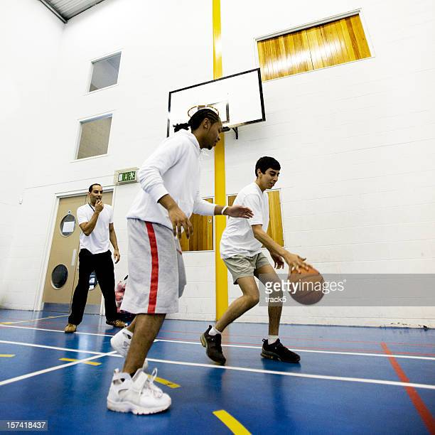 physical education: basketball challenge