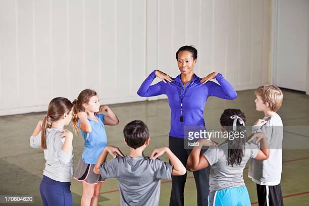 La educación física clase