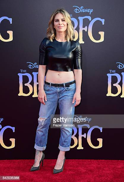 Physical trainer Jillian Michaels attends Disney's 'The BFG' premiere at the El Capitan Theatre on June 21 2016 in Hollywood California
