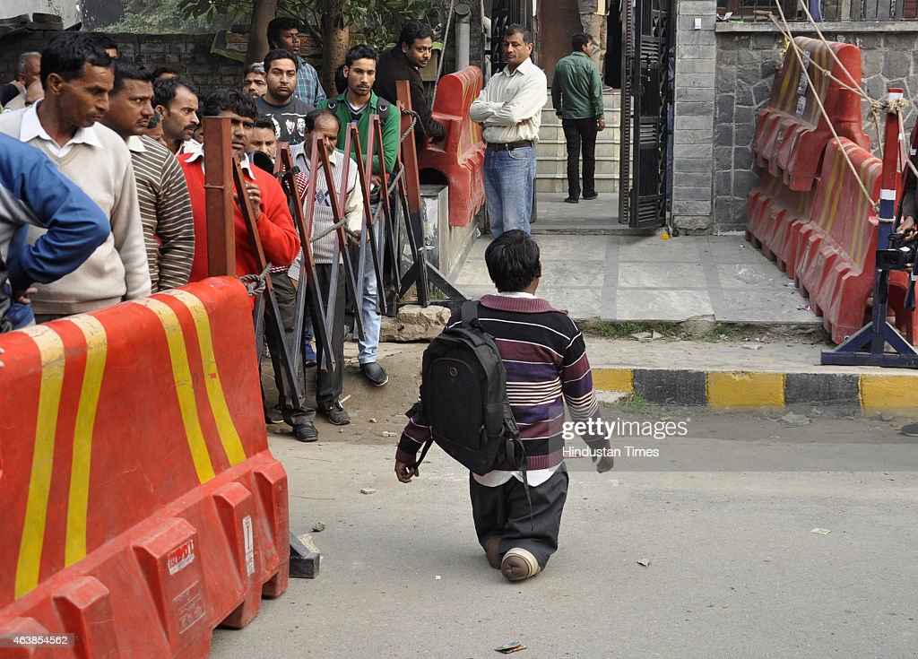 Delhi Chief Minister Arvind Kejriwal Holds Janta Darbar At ...