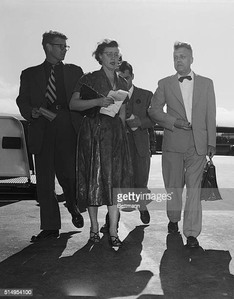 A 'physically exhausted' Kr Alfred E Kinsey arrives in San Francisco a whirlwind California 'vacation' that will include lectures sex interviews and...