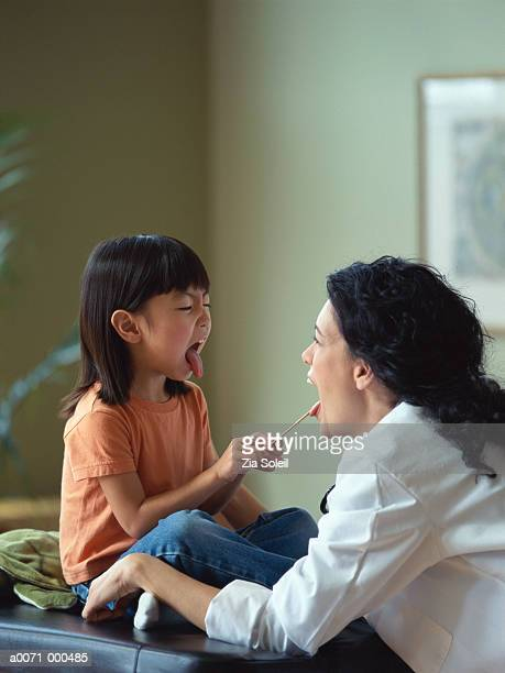Physician with Little Girl