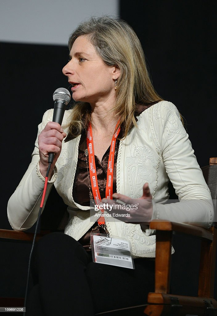 Physicist Lisa Randall attends the Once Upon A Quantum Symmetry: Science In Cinema Panel at Egyptian Theatre during the 2013 Sundance Film Festival on January 22, 2013 in Park City, Utah.