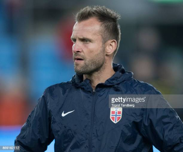 Physio Thomas Odegaard of Norway before the FIFA 2018 World Cup Qualifier between Norway and Northern Ireland at Ullevaal Stadion on October 8 2017...