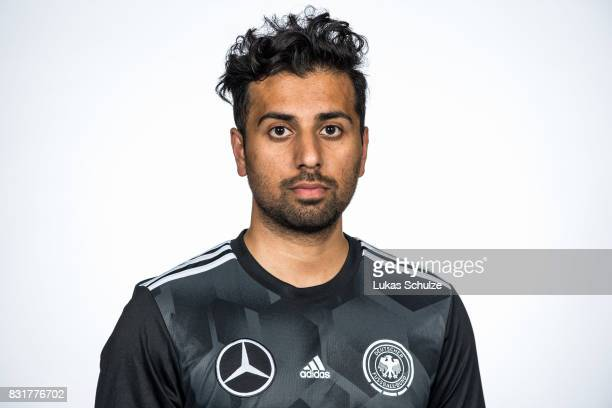 Physiotherapist Akhtar Munim poses at Sport School Wedau on August 11 2017 in Duisburg Germany