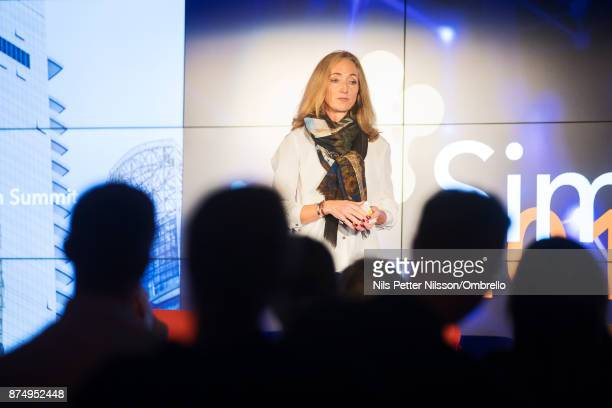 Pia Carlberg Change Management Stronghold Invest AB during the Sime Awards at Epicenter on November 16 2017 in Stockholm Sweden
