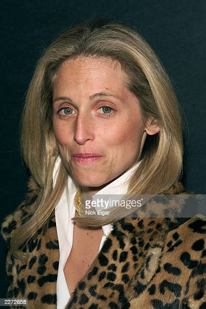 Pia Getty at a special screening the Miramax movie 'About Adam' at the Paris Theater New York City Tuesday March 20 2001 Photo Nick Elgar/Getty Images