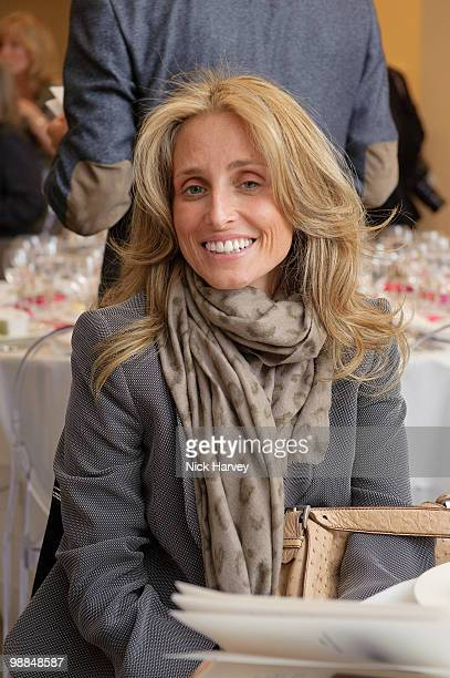 Pia Getty attends the Foundation of Contemporary Art's 5th anniversary exhibition on May 4 2010 in London England