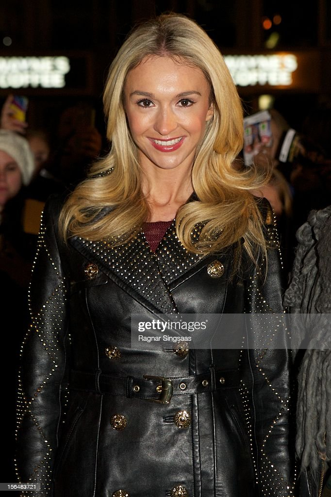 Pia Haraldsen attends the Norway Premiere of The Twilight Saga: Breaking Dawn Part 2 at Colosseum on November 15, 2012 in Oslo, Norway.