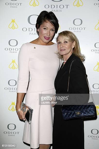 Pia HofmannPiard and Ruth Obadia attend 'Napoleon 1er Odiot et Sevres' at Galerie Aveline on October 6 2016 in Paris France