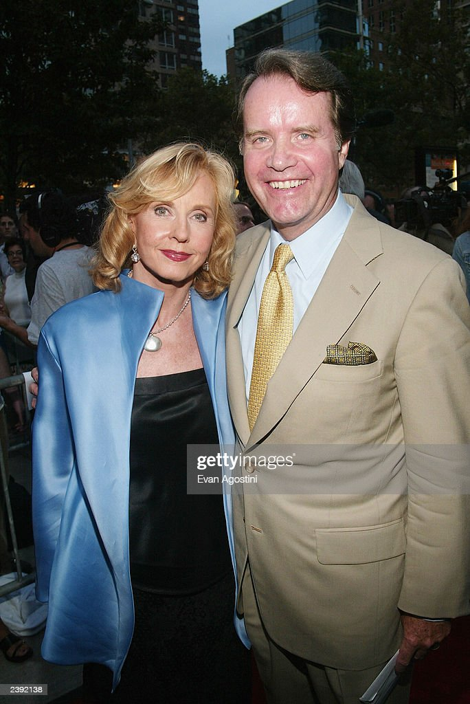 Pia Lindstrom and husband arrive at the 60th Anniversary of 'Casablanca' gala tribute screening and DVD release event at Alice Tully Hall, Lincoln Center on August 11, 2003 in New York City.