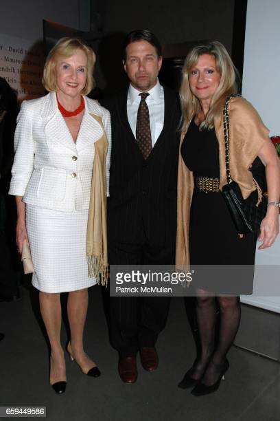 Pia Lindstrom Stephen Baldwin and Barbara Camp attend THE ATLANTIC WIRE LAUNCH PARTY at The Glass Houses on September 22 2009 in New York City