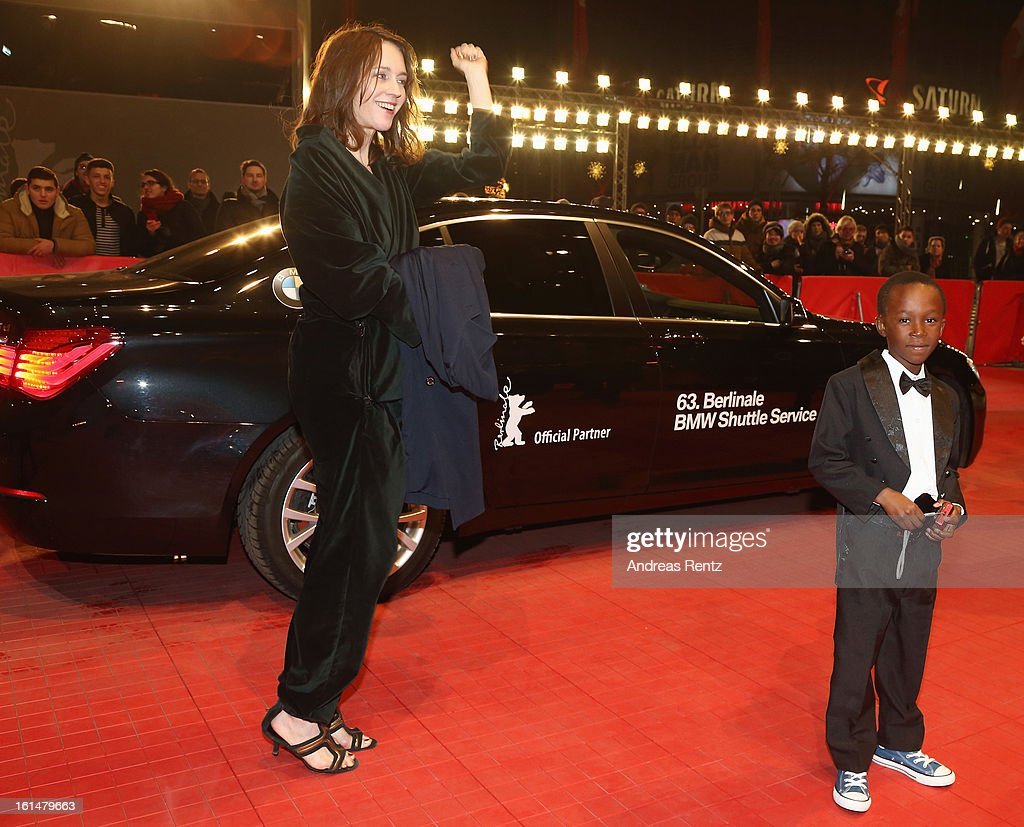 Pia Marais and Rapule Hendricks attend the 'Layla Fourie' Premiere during the 63rd Berlinale International Film Festival at the Berlinale Palast on February 11, 2013 in Berlin, Germany.