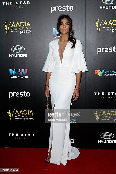 Pia Miller arrives ahead of the 5th AACTA Awards Presented by Presto at The Star on December 9 2015 in Sydney Australia
