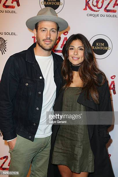 Pia Miller arrives at Cirque du Soleil KOOZA Sydney Premiere at The Entertainment Quarter on August 25 2016 in Sydney Australia