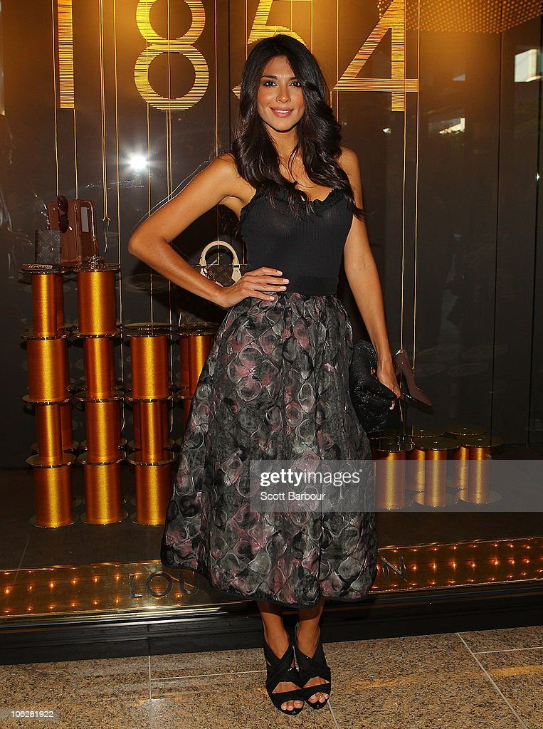 Pia Miller attends the Louis Vuitton Crown Melbourne store opening on October 28, 2010 in Melbourne, Australia.