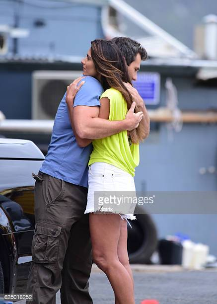 Pia Miller filming Home and Away on November 8 2016 in Sydney Australia