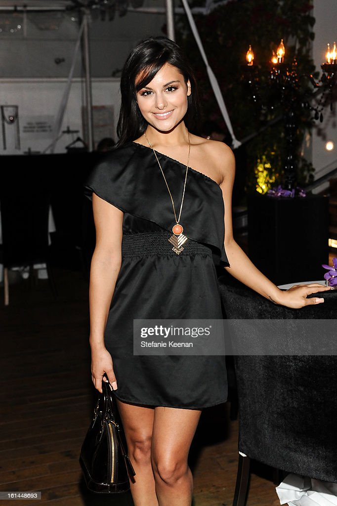 Pia Toscano attends Red Light Management Grammy After Party at Mondrian Los Angeles on February 10, 2013 in West Hollywood, California.