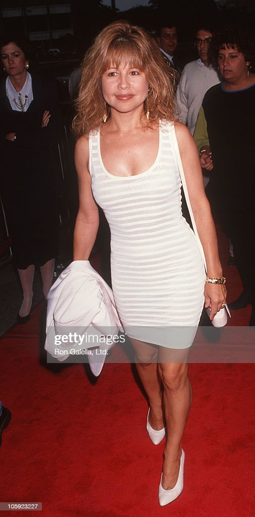<a gi-track='captionPersonalityLinkClicked' href=/galleries/search?phrase=Pia+Zadora&family=editorial&specificpeople=983599 ng-click='$event.stopPropagation()'>Pia Zadora</a> during 'Boyz In The Hood' Premiere at Cineplex Odeon Theatre in Century City, California, United States.