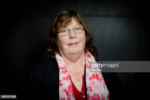 Pia Zimmermann regional chairwoman of the Left Party in Lower Saxony on October 16 2017 in Berlin Germany
