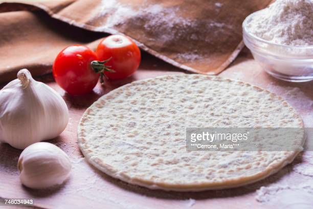 Piadina (unleavened bread, Italy)