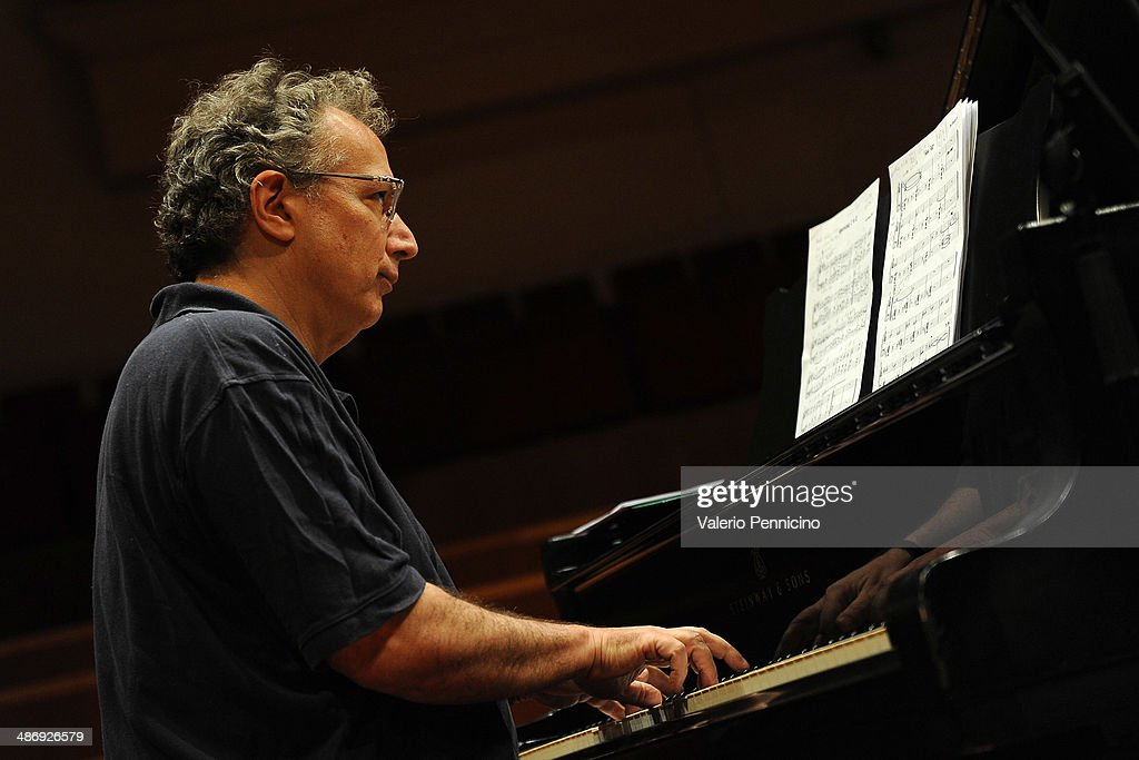 Pianist and author Uri Caine performs during Torino Jazz Festival at Auditorium Rai on April 26, 2014 in Turin, Italy.