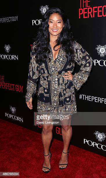 Pianist Chloe Flower attends the premiere of Screen Gems' 'The Perfect Guy' at the WGA Theater on September 2 2015 in Beverly Hills California