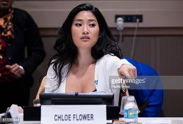 Pianist Chloe Flower participated on a interactive panel discussion on the Role of the Arts in Helping to End Human Trafficking today at the UN...