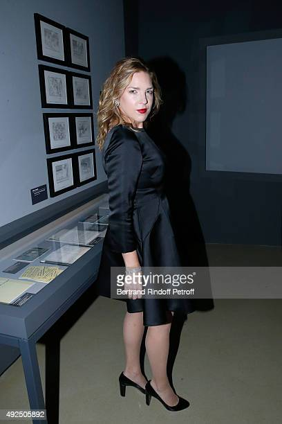 Pianist Diana Krall attends the Tribute to Director Martin Scorsese at Cinematheque Francaise on October 13 2015 in Paris France