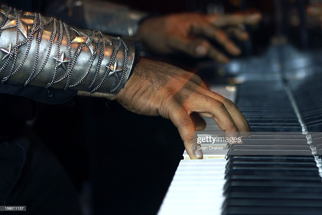 Pianist Elew performs at the Delano Hotel on December 07, 2012 in Miami Beach, Florida.