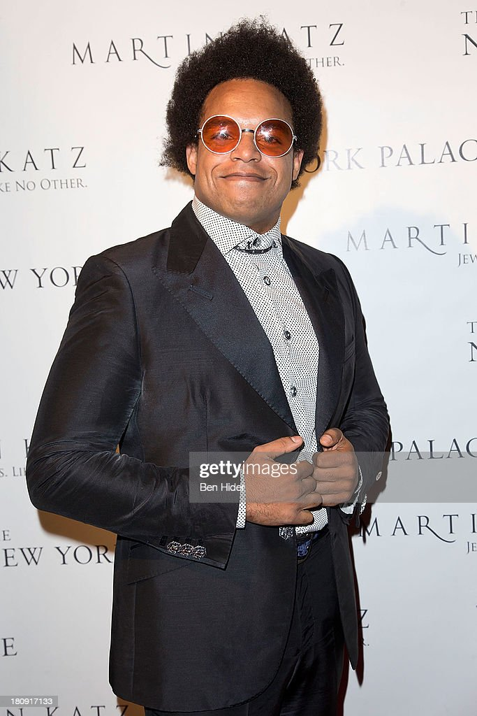 Pianist Eric Lewis aka ELEW attends the New York Palace's unveiling celebration>> on September 17, 2013 in New York City.