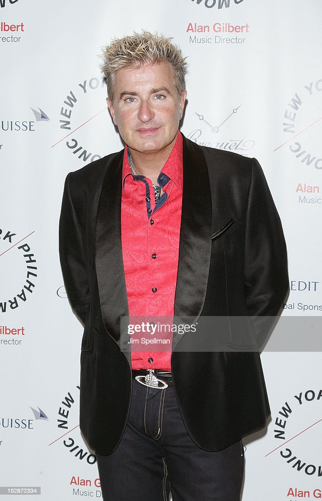 Pianist Jean-Yves Thibaudet attends the New York Philharmonic 171st Season Opening Night Gala at Avery Fisher Hall at Lincoln Center for the Performing Arts on September 27, 2012 in New York City.