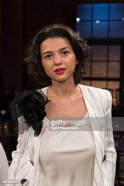 Pianist Khatia Buniatishvili attends the 'Koelner Treff' TV Show at the WDR Studio on June 2 2017 in Cologne Germany