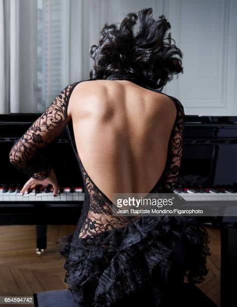 Pianist Khatia Buniatishvili is photographed for Madame Figaro on February 2 2017 in Paris France PUBLISHED IMAGE CREDIT MUST READ JeanBaptiste...