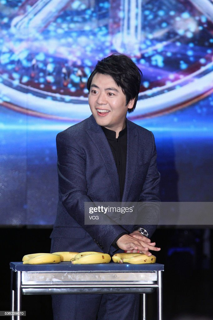 Pianist <a gi-track='captionPersonalityLinkClicked' href=/galleries/search?phrase=Lang+Lang&family=editorial&specificpeople=589153 ng-click='$event.stopPropagation()'>Lang Lang</a> attends the press conference of an online program on May 31, 2016 in Beijing, China.