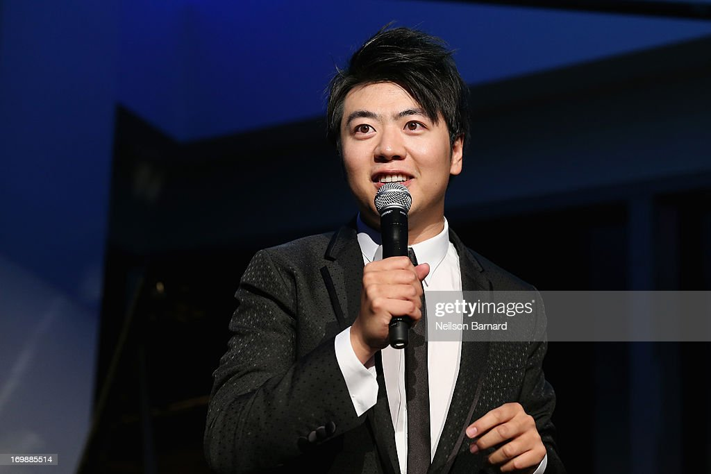 Pianist <a gi-track='captionPersonalityLinkClicked' href=/galleries/search?phrase=Lang+Lang&family=editorial&specificpeople=589153 ng-click='$event.stopPropagation()'>Lang Lang</a> speaks onstage at The <a gi-track='captionPersonalityLinkClicked' href=/galleries/search?phrase=Lang+Lang&family=editorial&specificpeople=589153 ng-click='$event.stopPropagation()'>Lang Lang</a> International Music Foundation Inaugural Gala supported by Montblanc at 10 on The Park on June 3, 2013 in New York City.