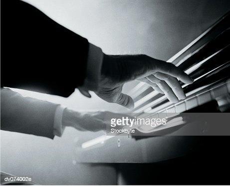 Pianist : Stock Photo