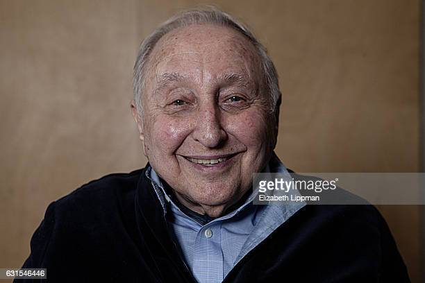 Pianist Seymour Bernstein is photographed for Boston Globe on February 27 2015 in New York City