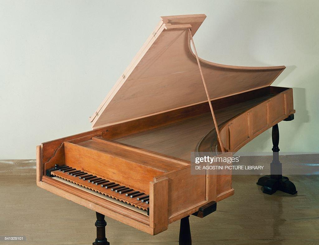 piano by bartolomeo cristofori italy 18th century. Black Bedroom Furniture Sets. Home Design Ideas
