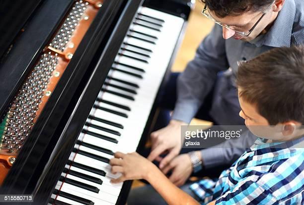 ピアノのクラス。