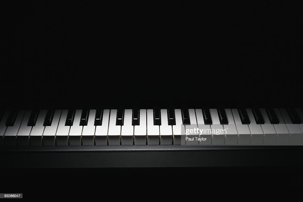 Piano keyboard : Stock Photo
