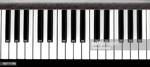 Piano Keys, Close Up