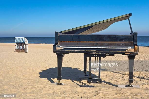 ピアノのビーチ