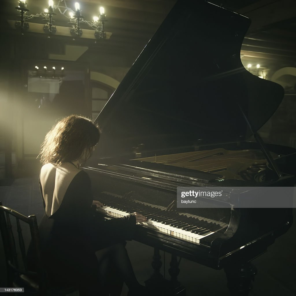 Piano Player : Stock Photo