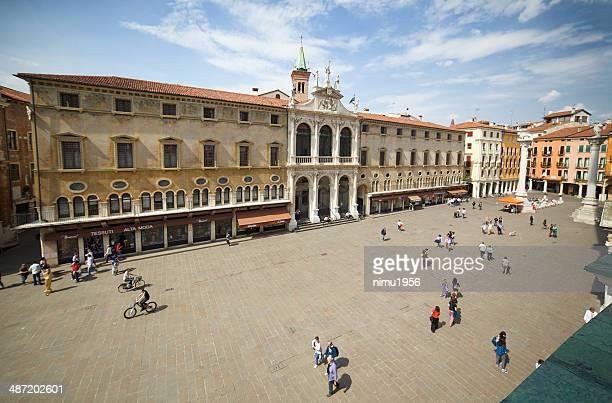 Piazza dei Signori (Square of Lords). Vicenza-Italy.