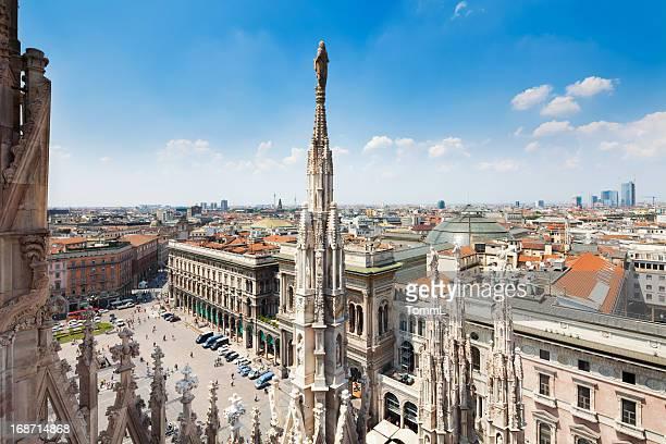 del di Piazza Duomo a Milano, Italia