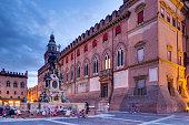 Piazza del Nettuno and Fontana de Netunno, Bologna