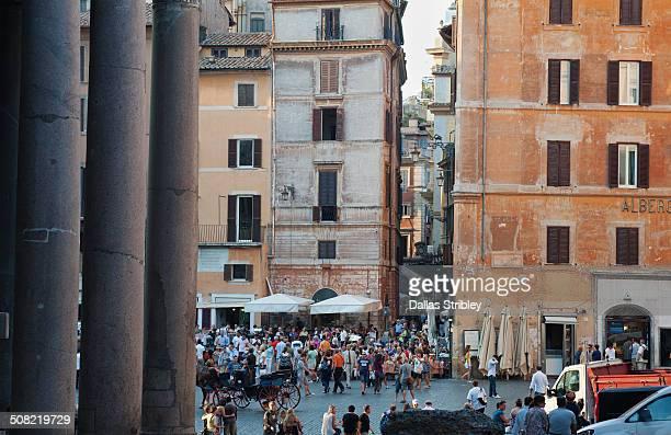 Piazza della Rotonda, and the Pantheon, Rome