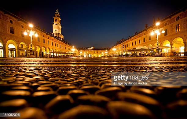 Piazza Ducale in Vigevano, Italy