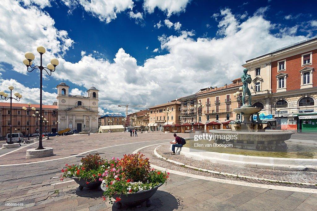 piazza duomo in L'Aquila
